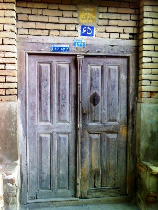 خانه قدیمی در محله ساغریسازان رشت